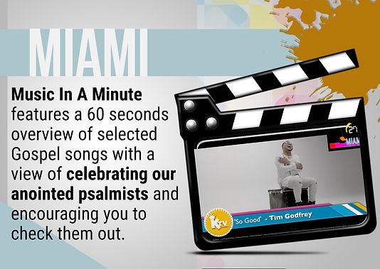 The Kingdom TV | MIAMI - Music In A Minute