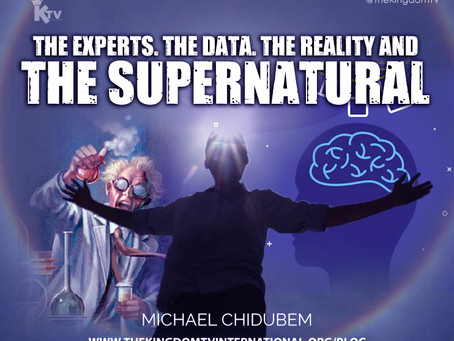 THE EXPERTS. THE DATA. THE REALITY AND THE SUPERNATURAL.