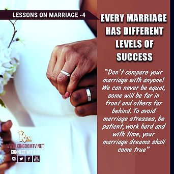 The Kingdom TV | Lessons on Marriage