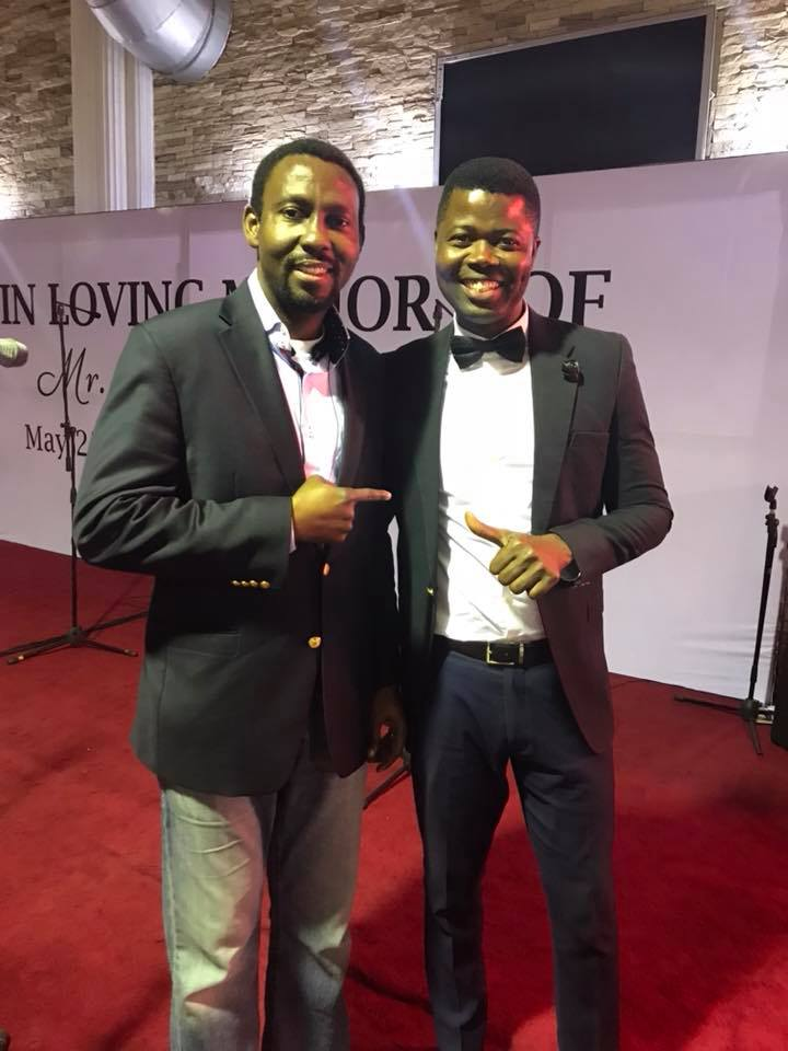 Seyi and Tony Adoki