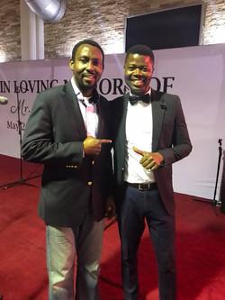 Seyi and Tony Adoki