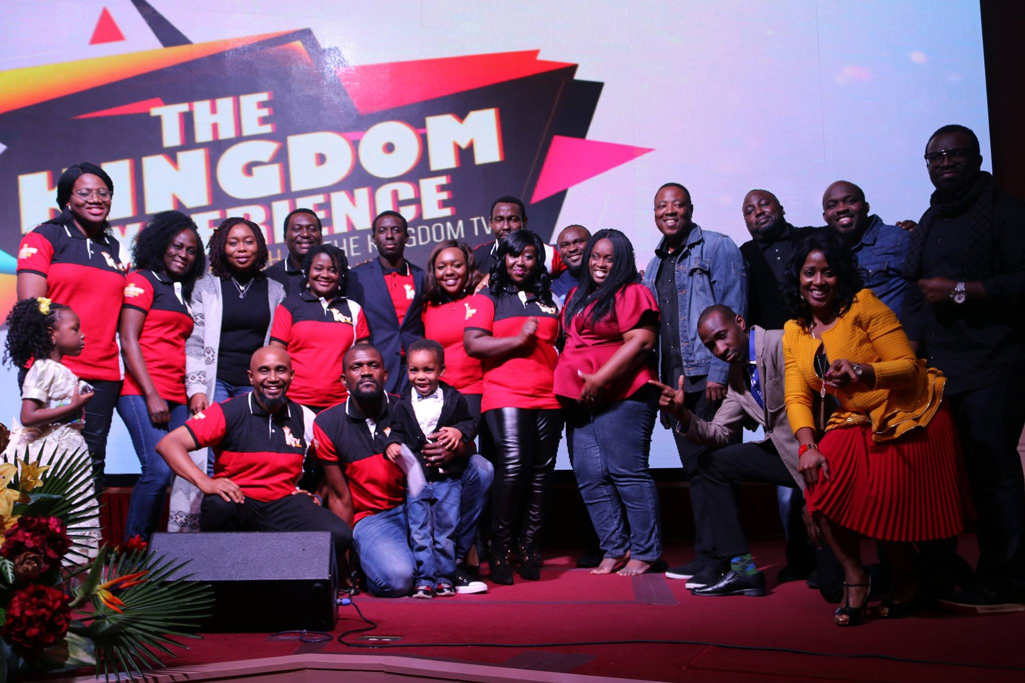 The Kingdom TV crew