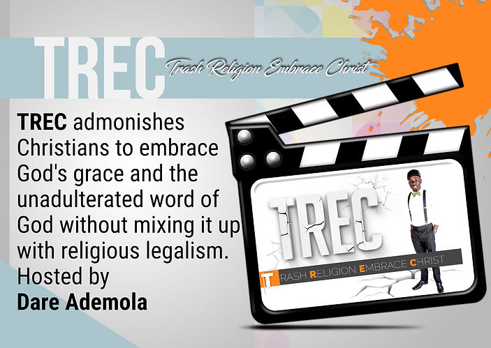 The Kingdom TV   TREC: -Trash Religion Embrace Christ