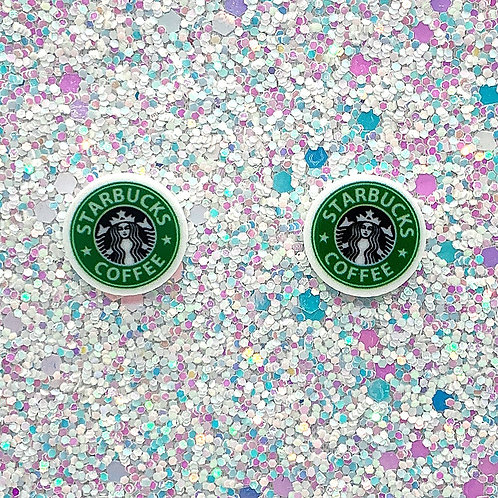 Dime-Size Studs in Basic Green