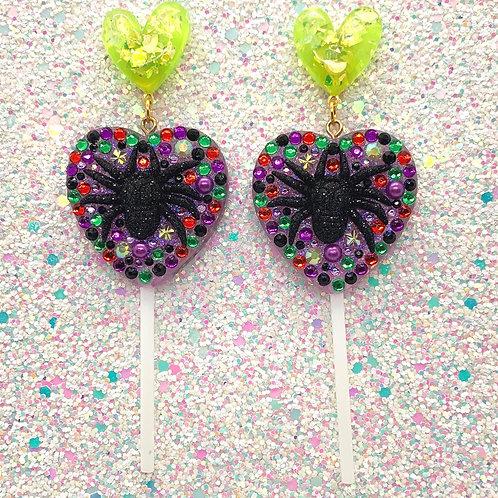 Purple Spoopy Trixie Lollies
