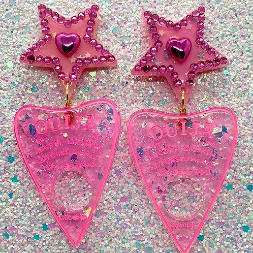 Pink Iridescent Ouijas