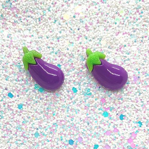 Purple Peeper Studs