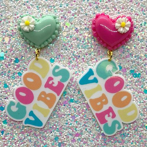 Mint & Pink Good Vibes