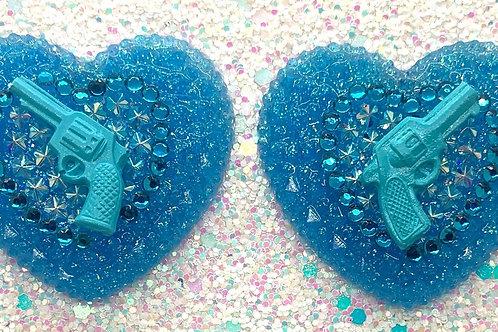 Blue Trixie Hearts