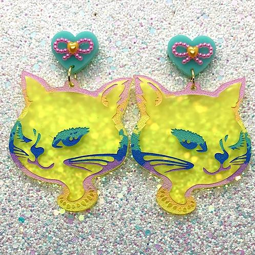 Ombré Rainbow Kitty Girls