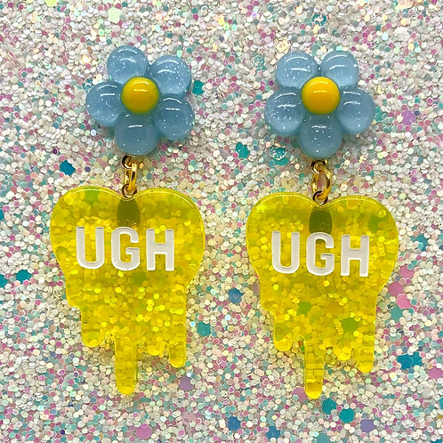 Blue Daisy Ughs