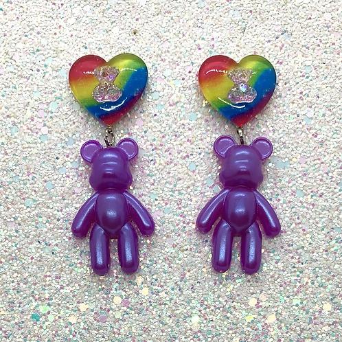 Queer Bears in Purple