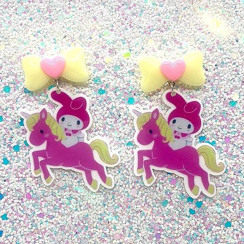 Pink & Yellow Bunnicorns