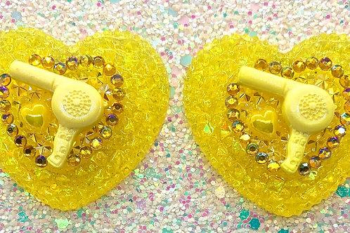Yellow Trixie Hearts