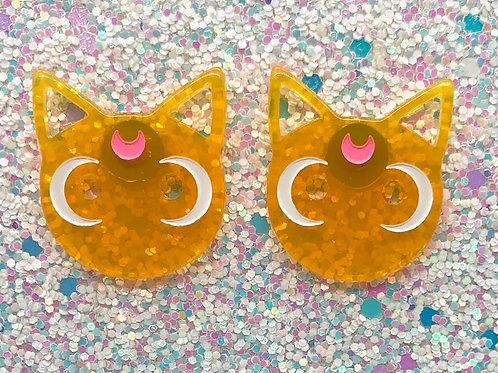 Orange Cat Studs