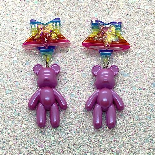 Totally Rad Bears in Magenta