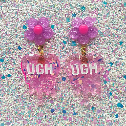 Purple Daisy Ughs