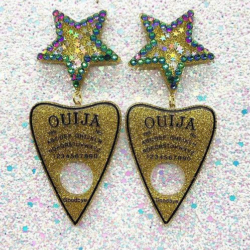 Gold Glitter Ouijas