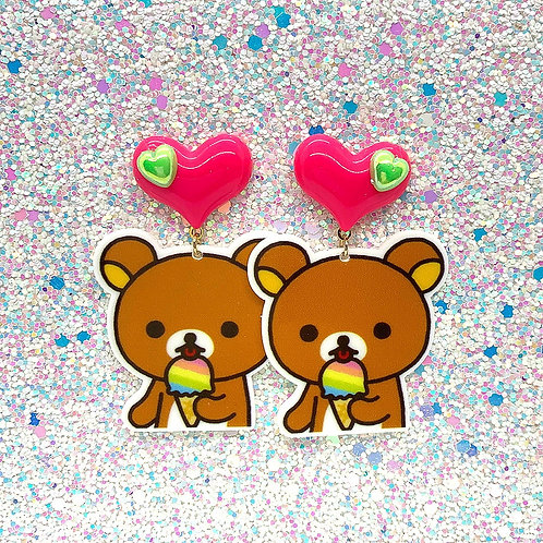 Pink/Green Ice Cream Bears