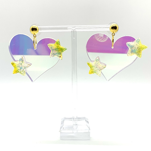 Little Piece of My Heart Dangles in Yellow - **SEE DESCRIPTION**