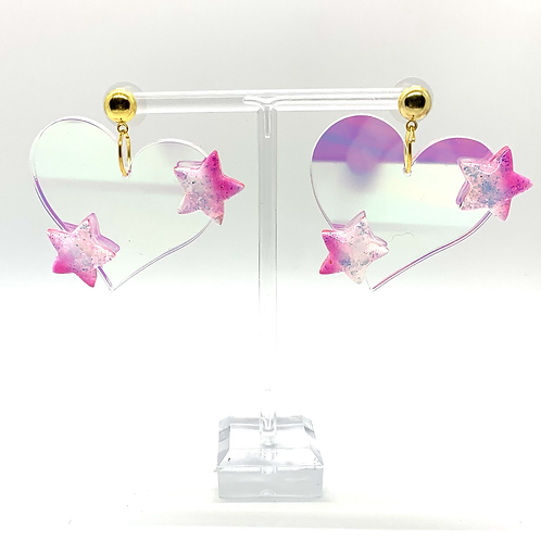 Little Piece of My Heart Dangles in Pink - **SEE DESCRIPTION**