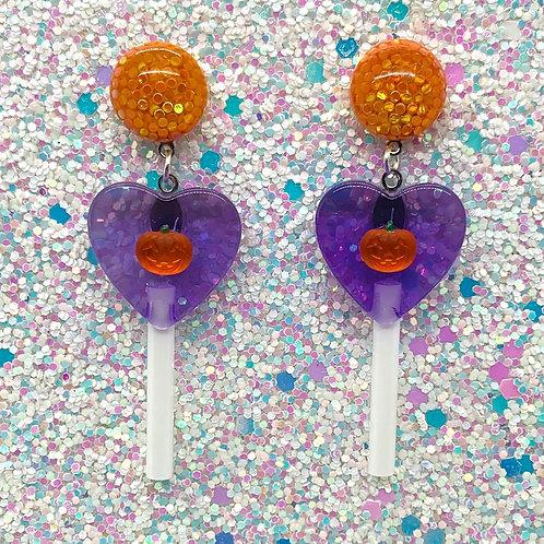 Purple Heart Spoopy Pops
