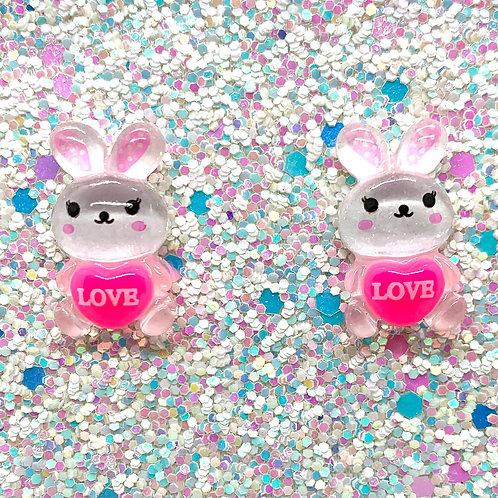 Love Bunny Studs
