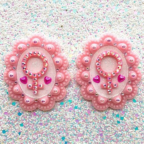Pink Venus Cameos