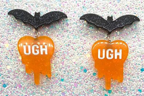 Orange Going Batty Ughs
