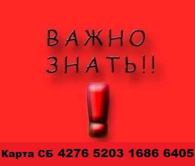КАРТА СБ 4276 5203 1686 6405