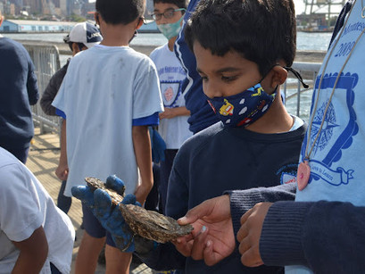 Elementary STEAM Program Starts the Year With Field Trips to Governor's Island & Liberty State Park
