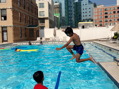 Students Dive Into Session 3 of Summer Camp