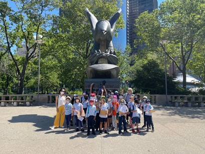 Our Students Visit Manhattan's Trails, Waterways, and Meet Exotic Animals