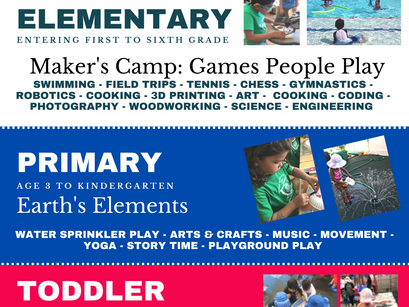Everything You Need to Know About Primary Summer Camp (Age 3 to Kindergarten)