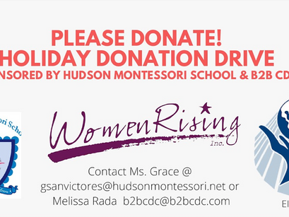 Holiday Donation Drive 2020