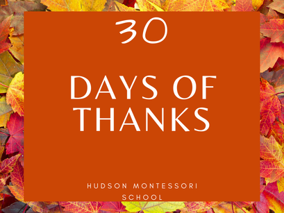 30 Days of Thanks Initiative