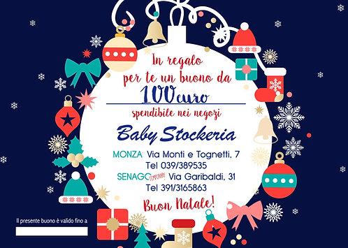 Buono Regalo Natale 2020 da 100 euro