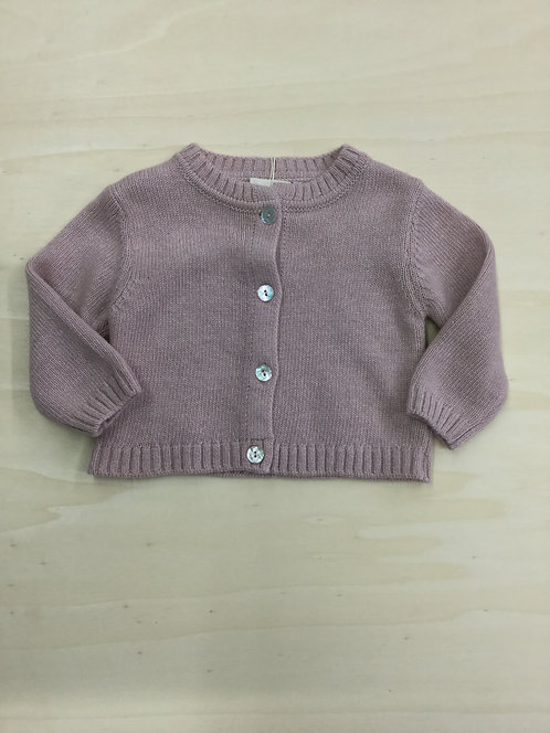 ISI BABY GIRL CARDIGAN IN LANA MADE IN ITALY