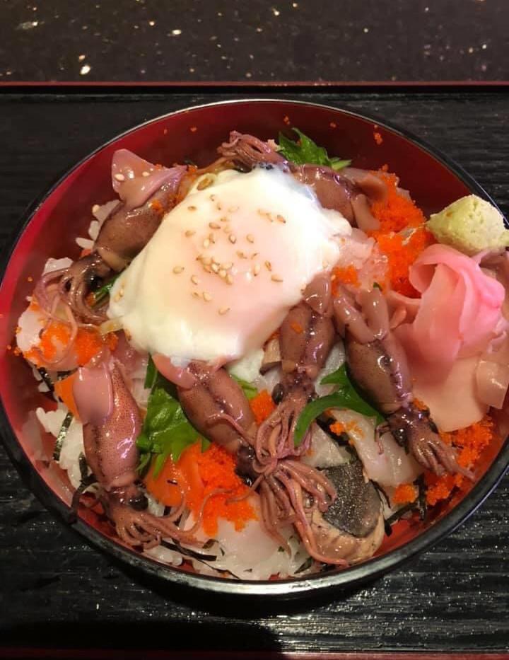 蛍イカのちらし寿司