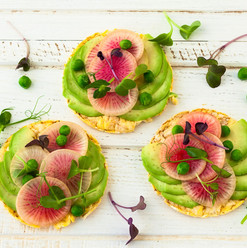 Beet Sprouted Tortillas