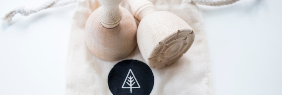 Wood Dough Stamps