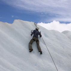 The closest to ice climbing I can get...