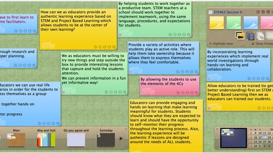 Educational Tools - Linoit