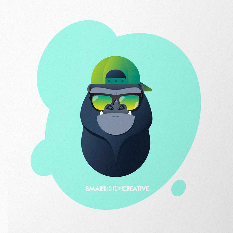 Cool Gorilla