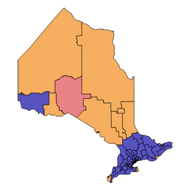 Ontario Provincial Election Results Lookup Tool