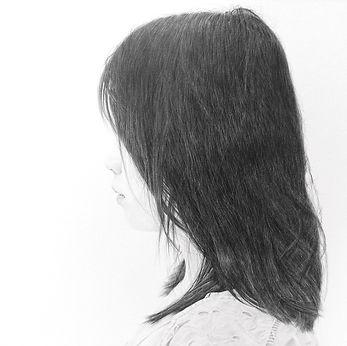 少女   girl  材料紙本鉛筆.pencil on paper  2018(