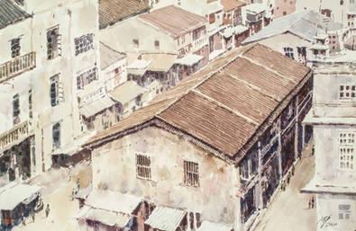 香港 早期的油麻地果欄