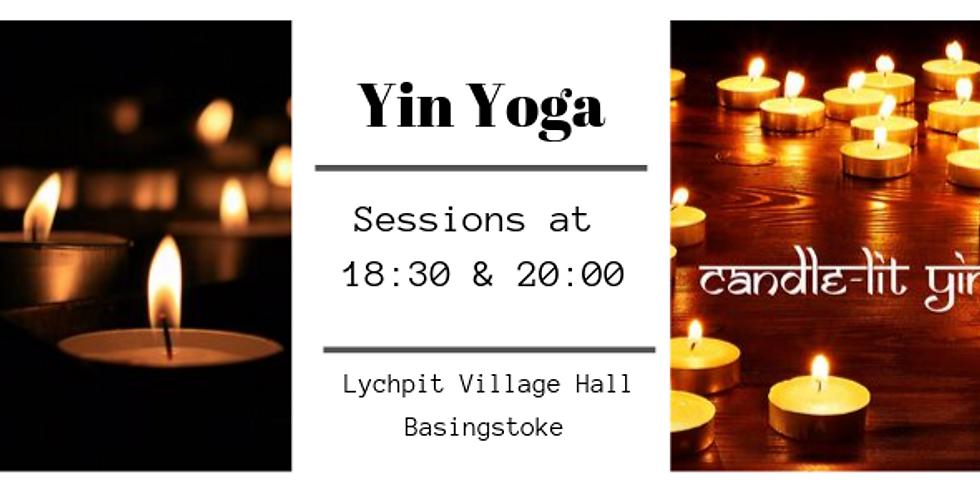Candle-lit Yin Yoga