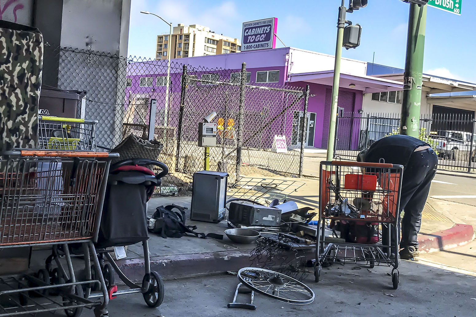 Homeless Community on 6th, Oakland, #1