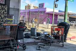 Homeless Community on 6th, Oakland, #1